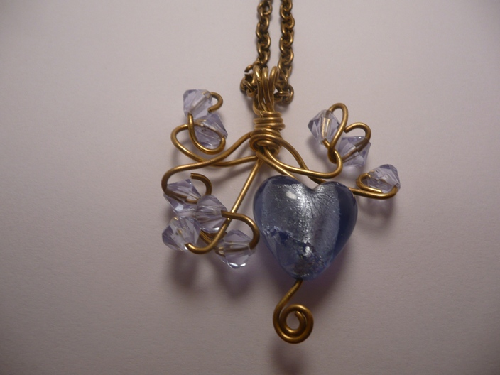 Delicious - Heart of Ice Necklace