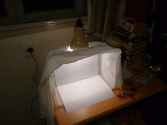 Hereu0027s A Quick Way To Make A Lightbox For Photographing Your Craft!