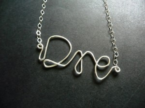 Name Necklace - Dre