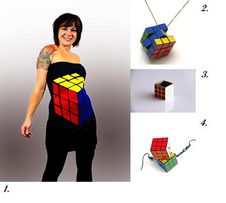 Handmade Accoutre – Rubik's Cube!