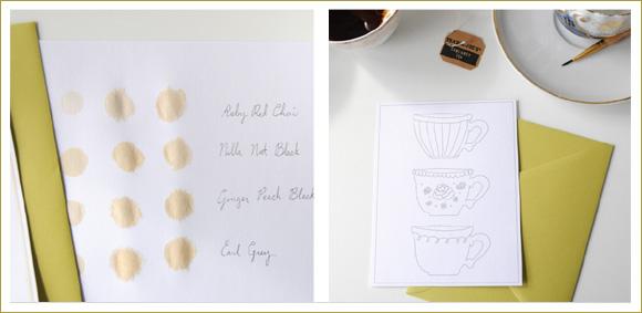 Pretties to Print – Teacup Tags