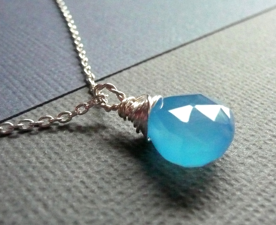 June Giveaway – Sky Blue Necklace