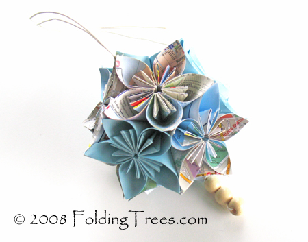 Tuesday Tute – Make an Origami Kusudama