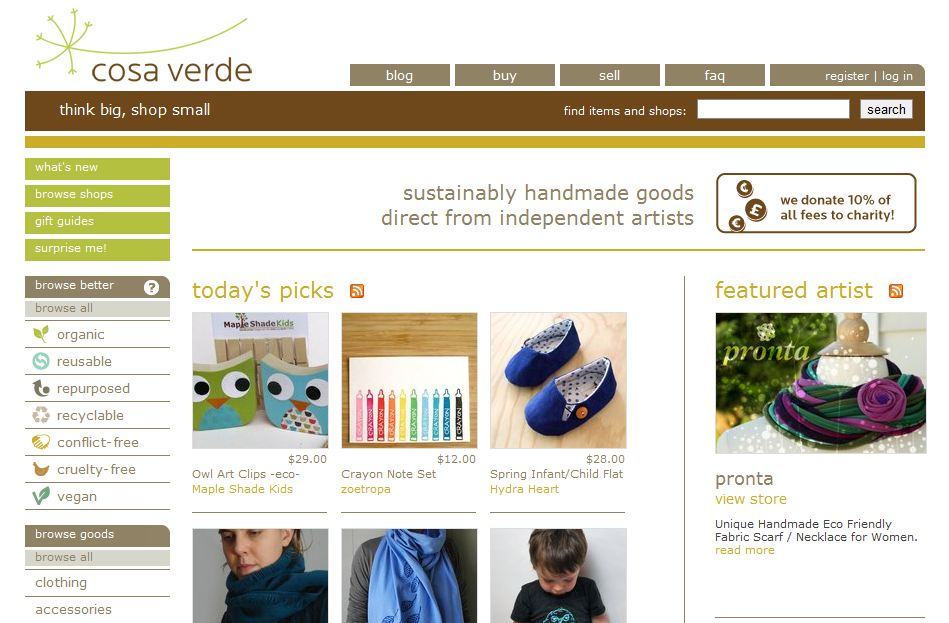 Sweet Sites – Cosa Verde