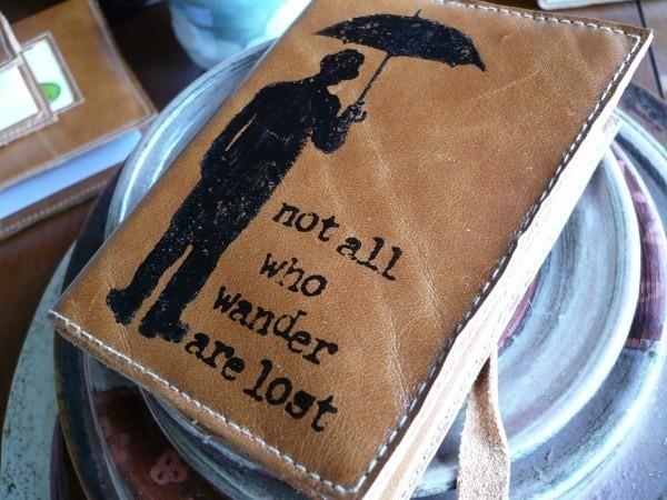 Leather Journals – in blue