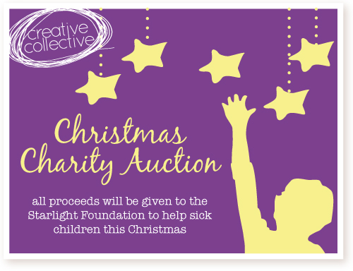 ~ Creative Collective ~ Christmas Charity Auction!
