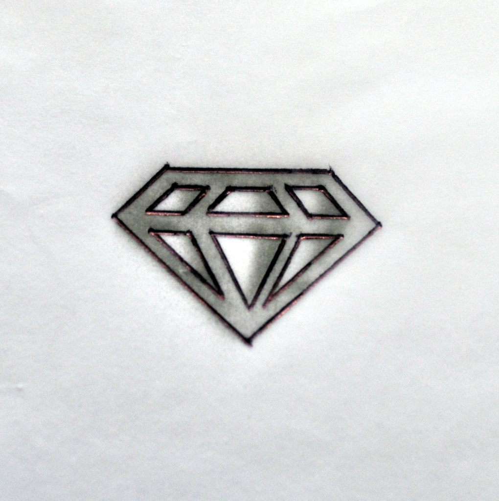 my process how to make a sterling silver diamond pendant