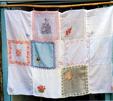 Craft Ideas Vintage Handkerchiefs on One Is My Favourite  I   M Thinking Of Taking The White Handkerchiefs