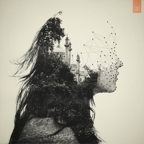 Double Exposure Portraits ~ The World Inside of Me