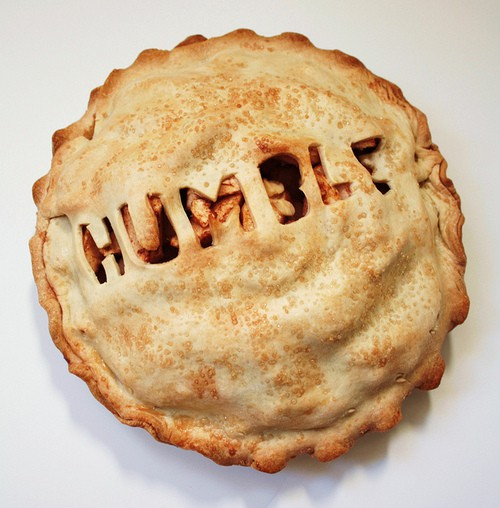 On Eating Humble Pie (and why it's good for you)