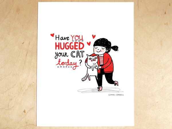 Today I Like… {14/12/11}… have you hugged your cat today?