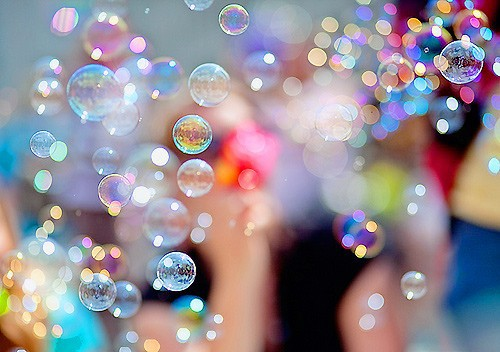 Simple Pleasures ~ Blowing Bubbles {Cassie Lee}