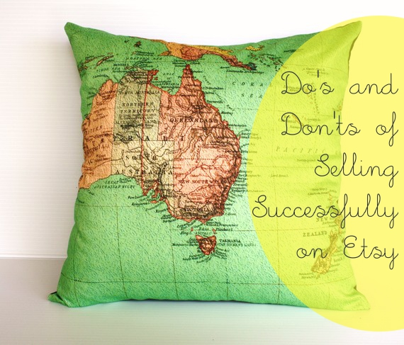 The Do's and Don'ts of Selling Successfully on Etsy {Guest Post by Cath Young}