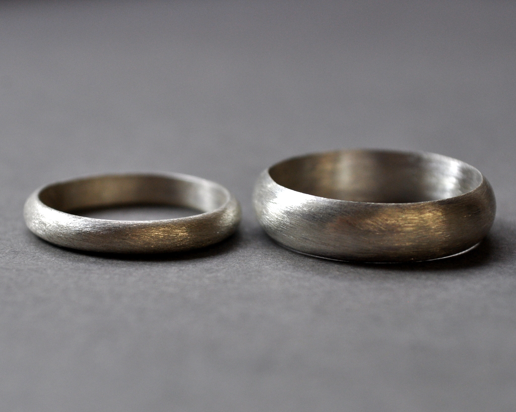 Sterling Wedding Bands