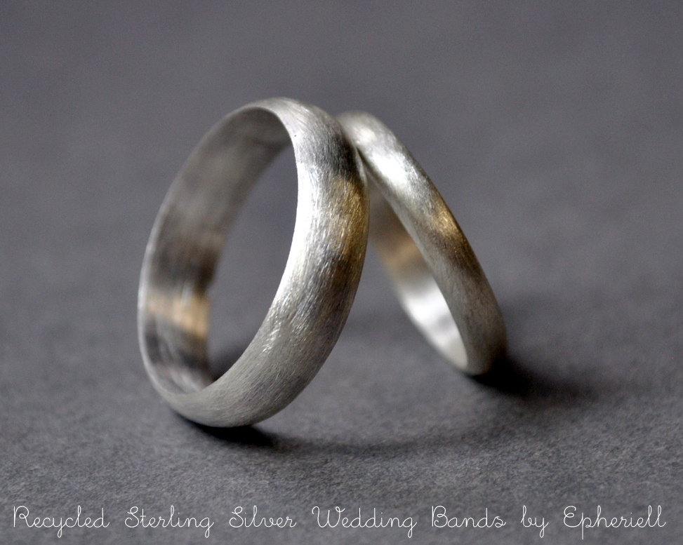 Introducing Epheriell Eco Friendly Wedding Bands I M
