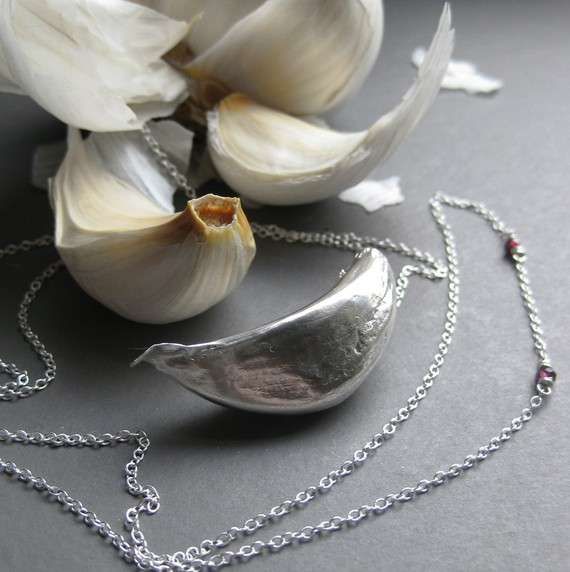 Today I Like… {3/4/12} Sterling Silver Garlic Necklace