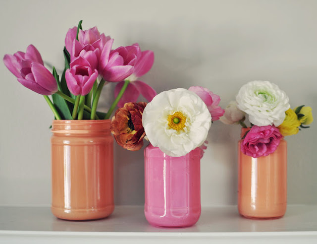 DIY ~ Painted Mason Jar Round-up!