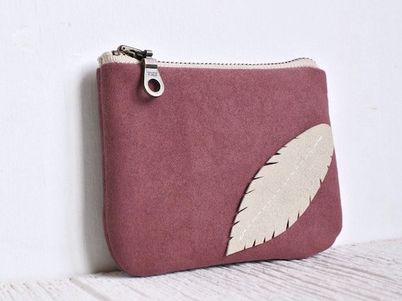 Today I Like {20/5/12} Sweet Blush Pink Zipper Purse from Milk and Honey Handbags