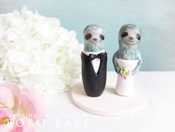 Sloth Wedding Cake