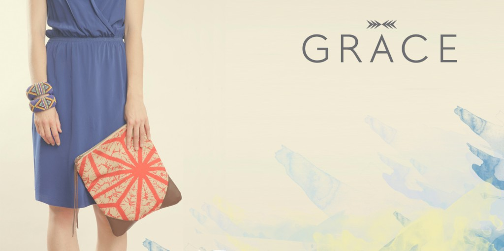 Grace Design ~ repurposed handbags made from saris, kimonos and more