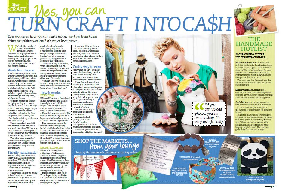 craft into cash feature in womens day