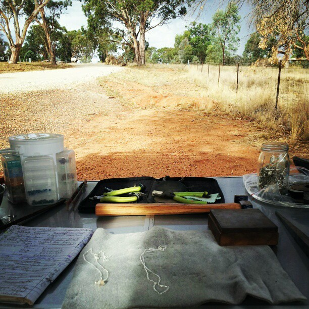 studio in the outback
