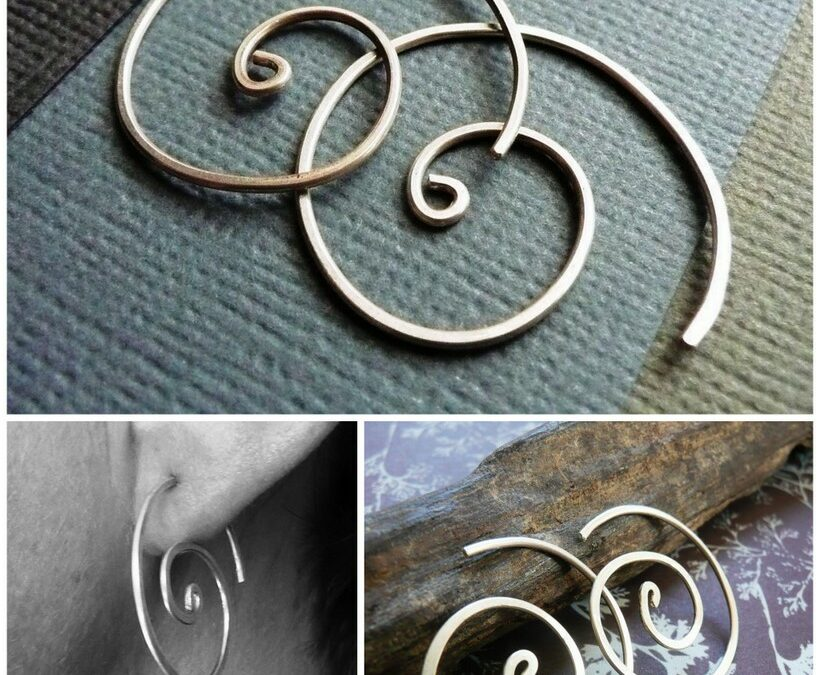 Sterling Silver Spirals – Epheriell Weekly Special 4/2/13