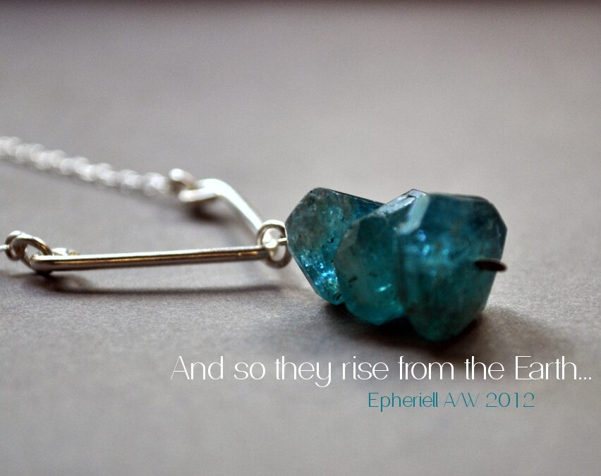 And so they rise from the Earth… the Epheriell A/W 2012 Collection Launches this Week!