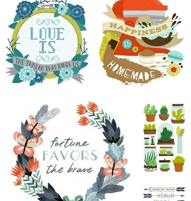 Illustration Love ~ Small Talk Studio