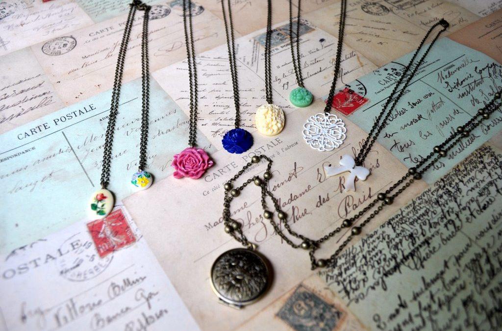 A sneak peek at my new jewellery range – Vintette!
