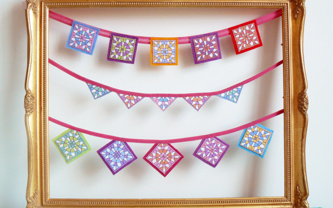 DIY ~ Go Granny Mini Bunting! {Curly Pops}