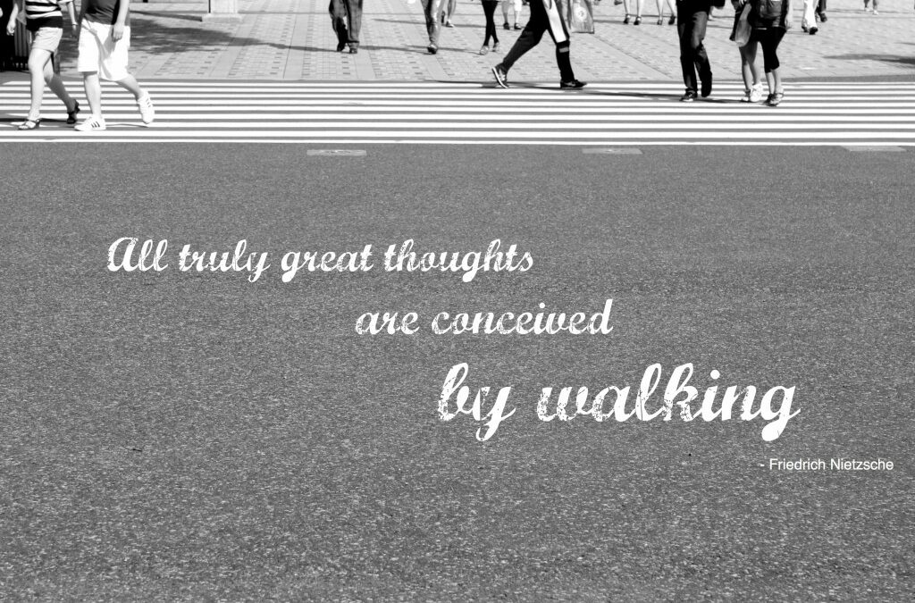 Simple Pleasures ~ Going for a Walk {Emily Orpin}
