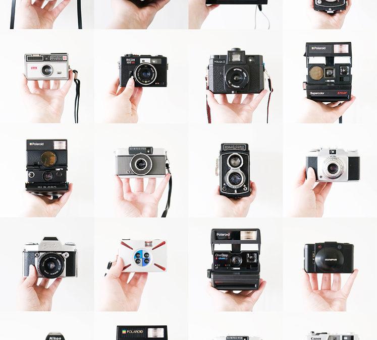 Collection ~ 20 Film Cameras