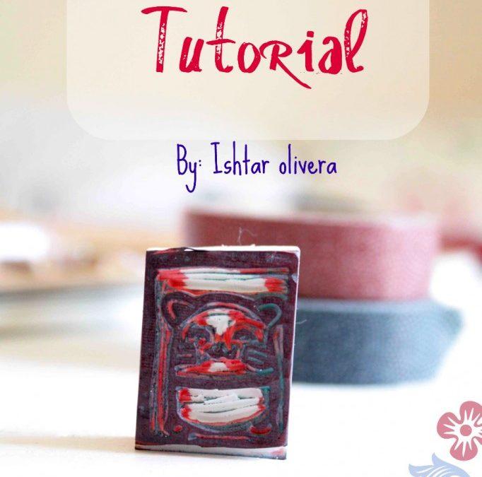 DIY ~ Stamp-carving tutorial by Ishtar Olivera
